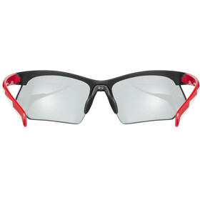 UVEX Sportstyle 802 V Brillenglas, black red white/smoke